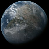 Planet Novaterra of the Delta Pavonis System