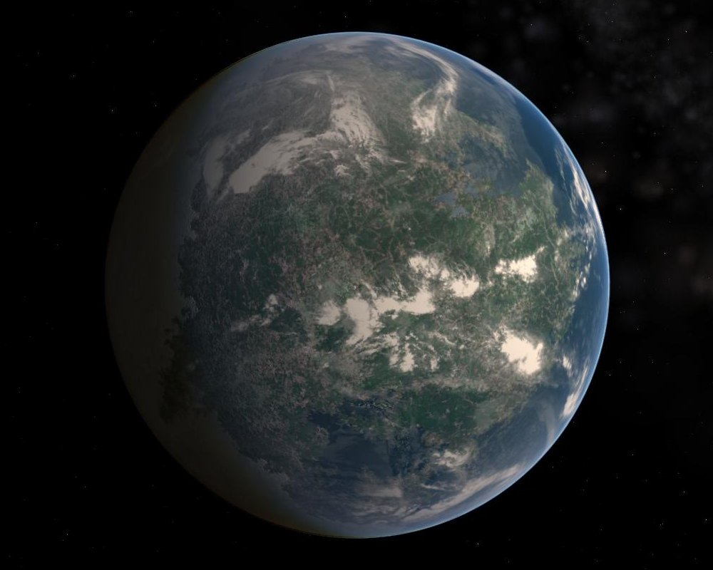 gliese 581g to earth comparison - photo #25